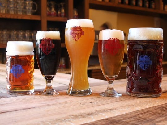 Schulz Brau Brewing, at 126 Bernard Ave., specializes in German-style beers.