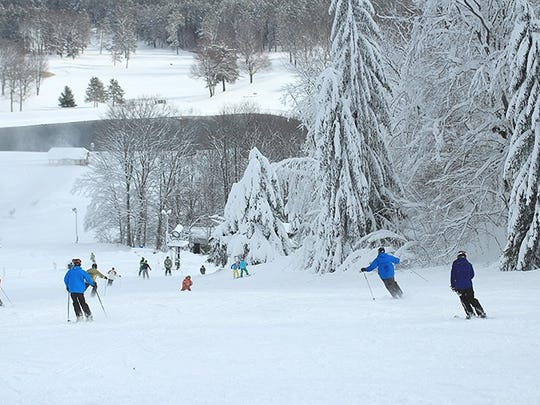 Boyne Highlands in Harbor Springs opened on Sunday with these excellent conditions and will reopen for the season on Friday.