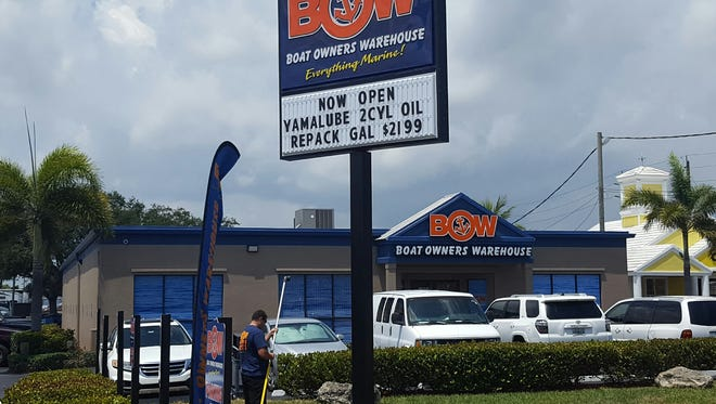 Boat Owners Warehouse newest location is at 1830 S.E. Federal Highway in Stuart.