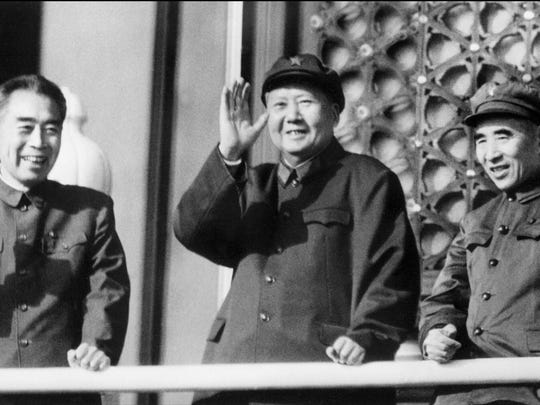 A photo taken on October 3, 1967 shows Chinese Chairman