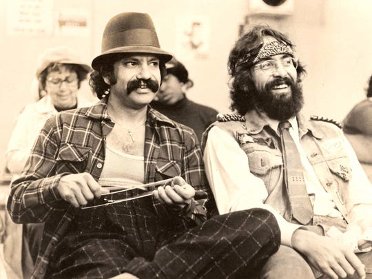 Cheech & Chong gained popularity as a comedy duo in