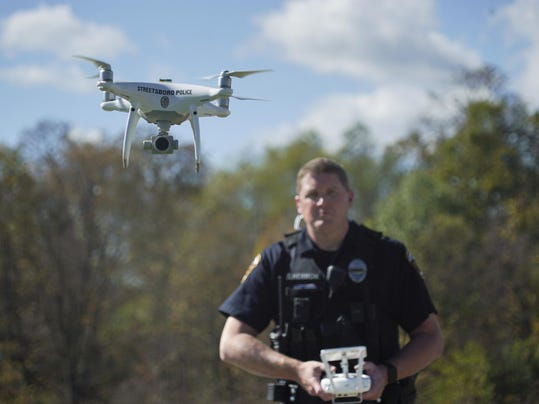 Drones Policing From Above