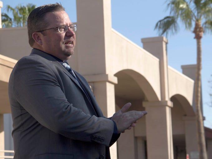 Shane McCord, recently chosen to lead Gilbert Public