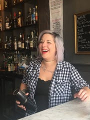 Bartender Nataleigh Kabler will have several creations