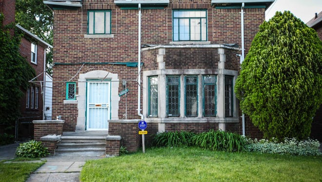 This Russell Woods neighborhood home in Detroit will be renovated as part of the next season of the PBS series 'This Old House.'