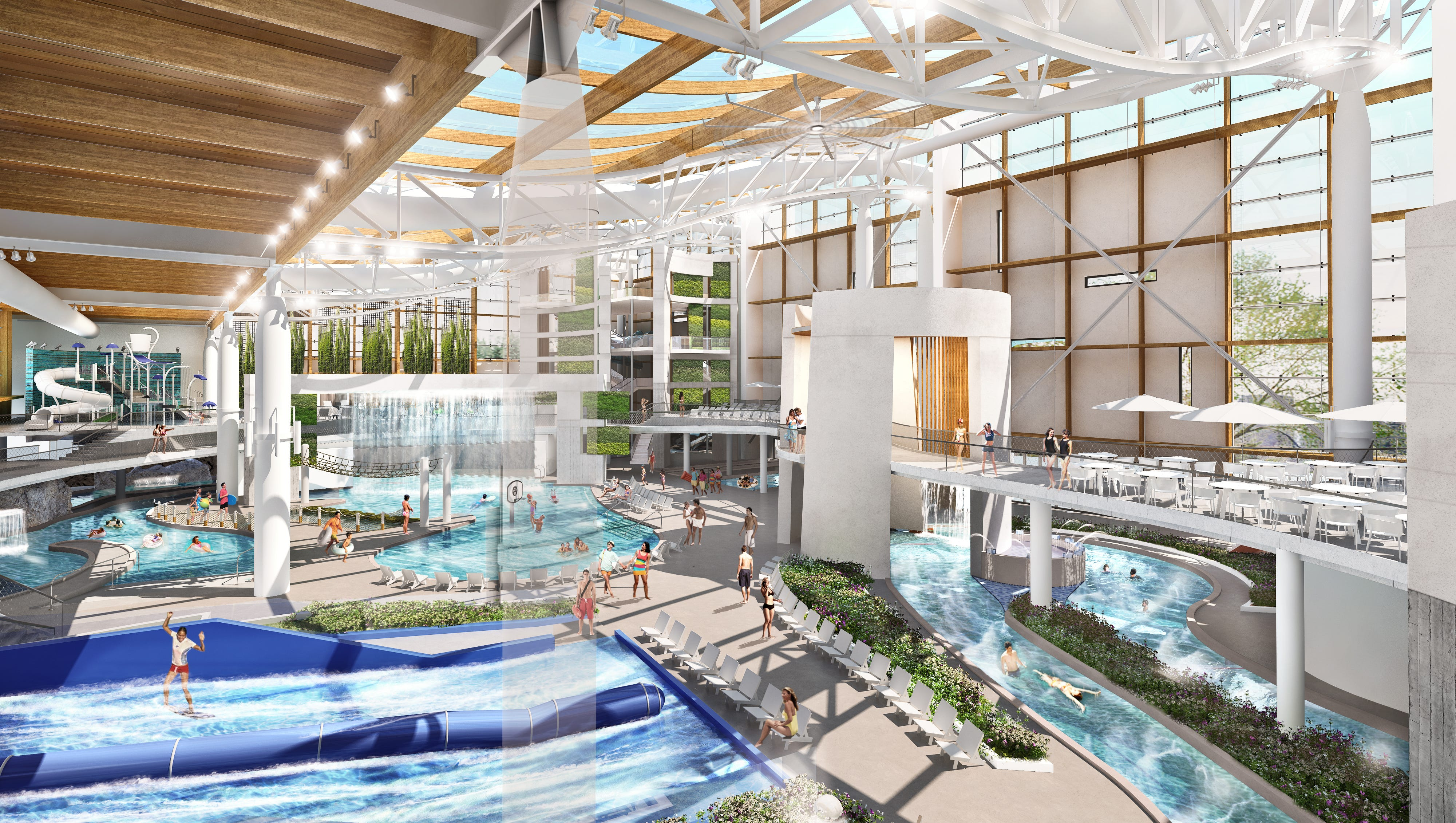 ryman to pour  90m into opryland water park