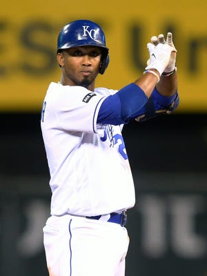 Alcides Escobar hit .250 with six homers, 54 RB and a career-high 102 strikeouts last season.
