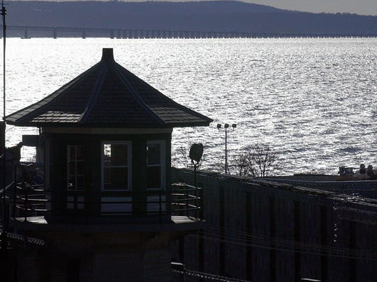 A guard tower at Sing Sing Correctional Facility in Ossining overlooks the Hudson River in this file photo.