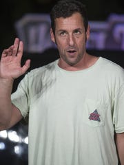 Adam Sandler will perform on April 25 and 26 at theNew Jersey Performing Arts Center in Newark.