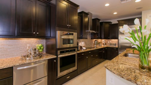 A major kitchen remodel costs on average about $56,768, according to 'Remodeling' magazine