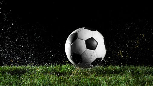 A stock image of a soccer ball.