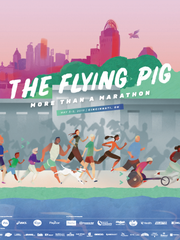 The 2019 Flying Pig poster.