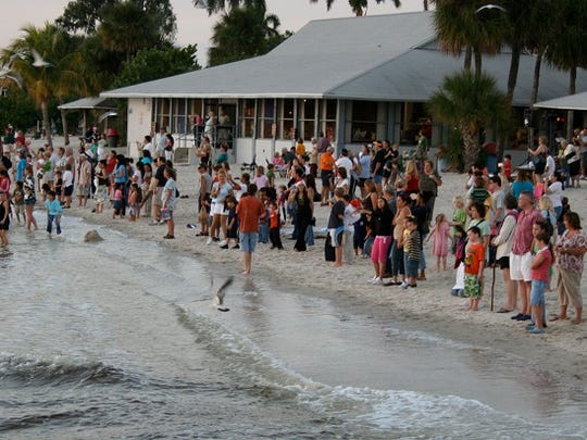 The Yacht Club beach will be closed Monday through Friday during the demolition of the pavilion building.