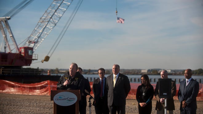Construction that is set to begin at the Port of Paulsboro has spurred development of a supermarket and senior housing one mile down the road.