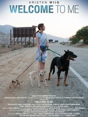 """Welcome To Me"" movie poster staring Kristen Wiig shot in the Coachella Valley in 2013 and released in 2015."