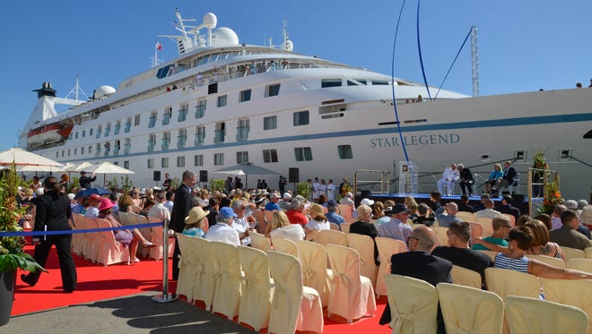 Windstar Cruises christened its newest ship,  Star Legend, on May 25, 2015. The line purchased the vessel from luxury line Seabourn and spent $8.5 million overhauling it in a dry dock.