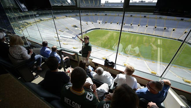 The focus of the Packers' $55 million renovation over the next two years is to add operable windows to private suites.