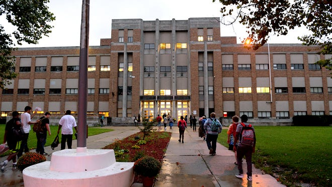 Water samples from five Lansing School District buildings showed elevated levels of lead in recent testing prompted at least in part by the Flint water crisis, district officials said Tuesday.