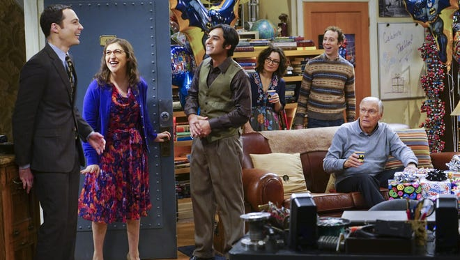 The gang celebrates Sheldon's birthday with some surprise guests on 'The Big Bang Theory.'