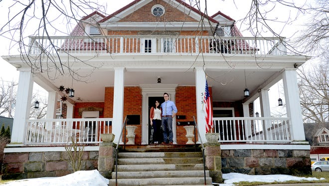 In 2014 Brittany and Dave Rademacher bought the 143-year-old house in Grand Ledge that was once the home of Edward A. Turnbull, the owner of the Grand Ledge Chair Company and delegate to the Michigan Constitutional Convention of 1907 to 1908 from Eaton County. The couple plans on spending the next 10-20 years renovating the 6,150 square foot house.
