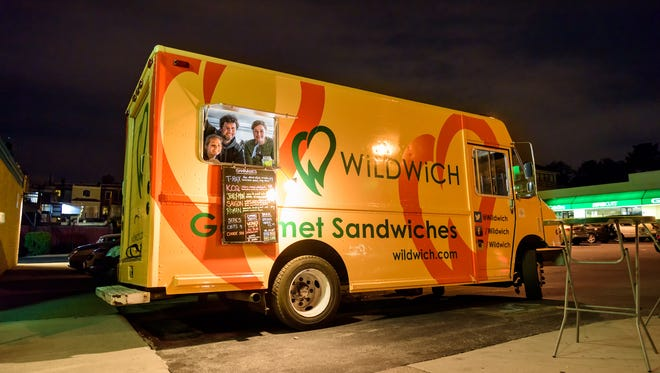 Wildwich will be one of the food trucks on site for the first Foodie Friday.