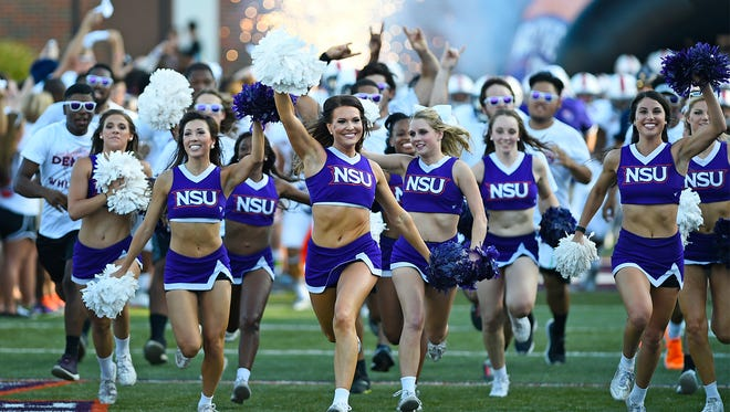 The Northwestern State football team reported to campus on Wednesday.