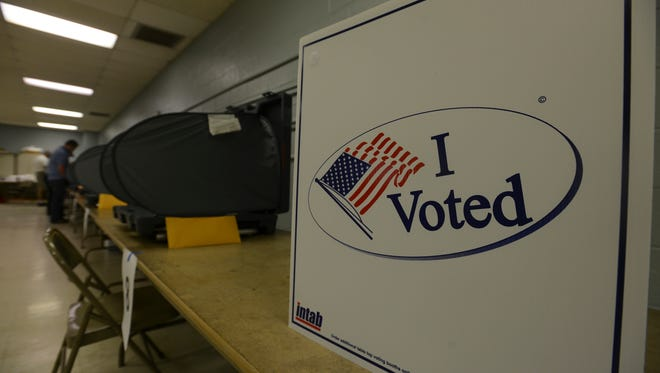 Madison County residents cast their ballots in the 2016 state primary and county elections Thursday, Aug. 4.