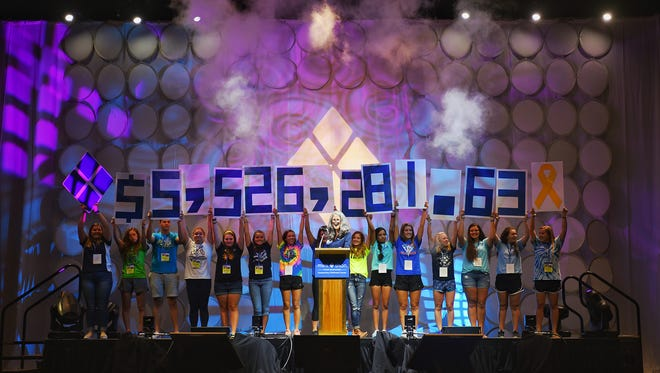 At the Mini-THON Leadership Summit on Aug. 5, it was announced that Mini-THONs across five states raised $5,526,281.63 for cancer research and treatment. York County schools were part of this year's fundraising effort.