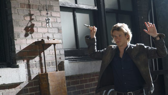 """""""MacGyver"""" stunt coordinator Justin Sundquist was seriously injured on set in Atlanta. The CBS remake of the 1980s series centers around Angus """"Mac"""" MacGyver (Lucas Till), a government operative who has a knack for unconventional problem solving and saving lives."""