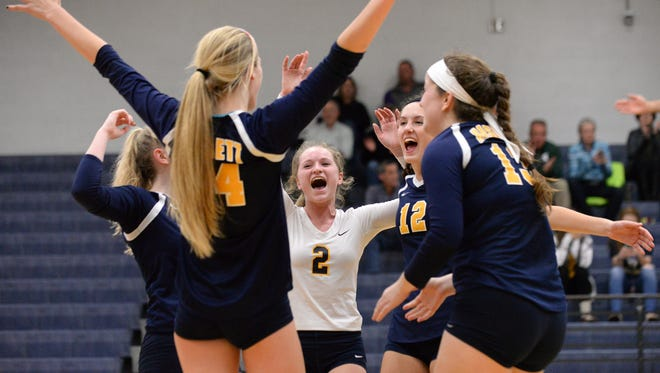 Jordan Valley (2) hopes to help Haslett capture another district title and more next week.