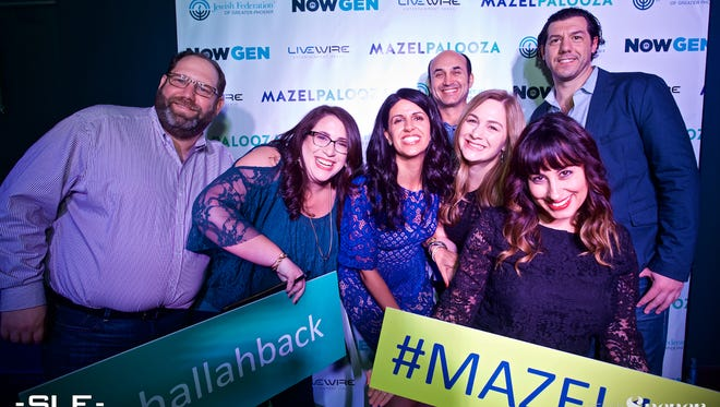 Mazelpalooza offers a dance party for Jewish young adults during the holidays. During Mazelpalooza, guests often see old friends and acquainances. Mazelpalooza has become like a reunion for Jewish young adults in Arizona.