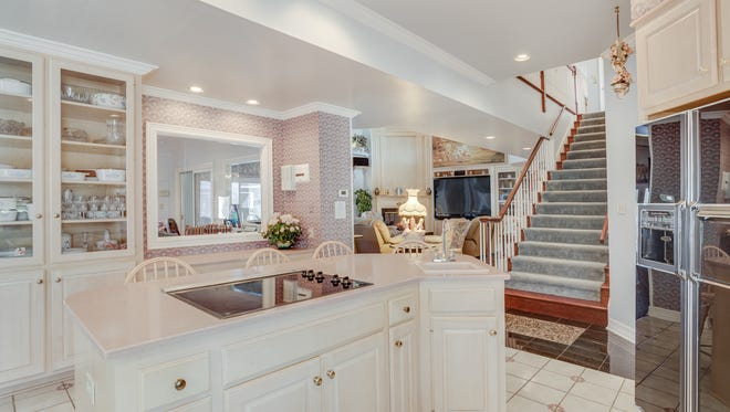 The kitchen at 390 Robbins Place.