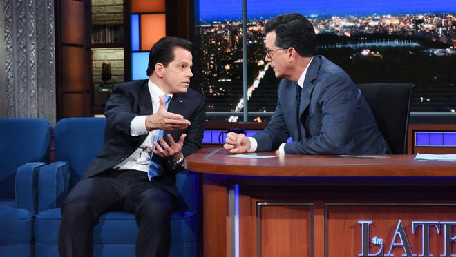 Anthony Scaramucci on 'The Late Show With Stephen Colbert'