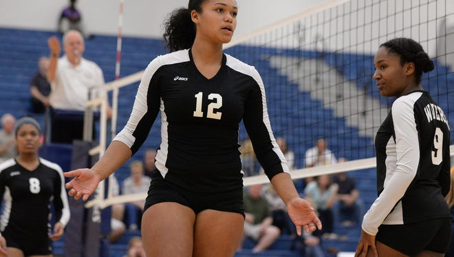 Waverly's Malin Smith is among the Lansing area leaders in kills and blocks.