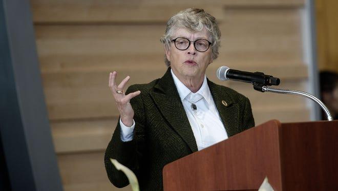 Michigan State University President Lou Anna Simon