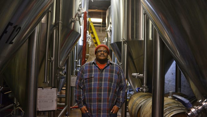 Kevin Blodger, co-owner and head brewer of Union Craft Brewing in Baltimore.