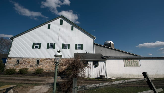 The Goldfish Barn, at 11436 Lincoln Way West, Fort Loudon, will soon be converted into an event venue.
