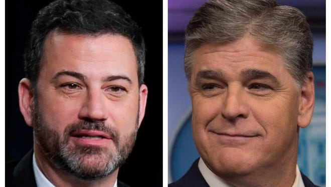 Jimmy Kimmel is not taking Sean Hannity's insinuation of sexual misconduct sitting down.