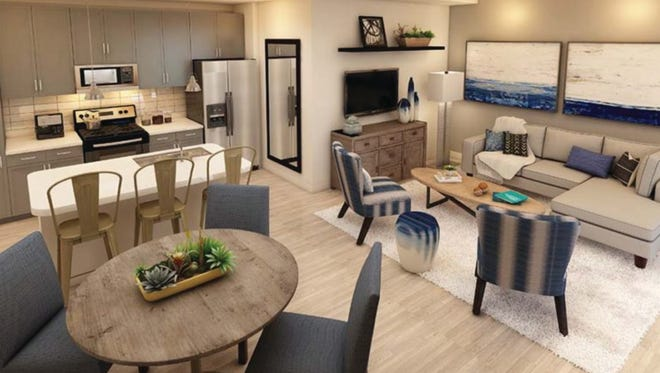 Furnished models are open at Inspira, a new apartment community on the corner of Rattlesnake-Hammock and Grand Lely Drive.