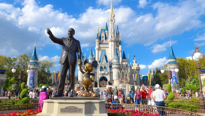 2. Magic Kingdom – Orlando, Florida: Magic Kingdom captures the enchantment of fairy tales with exciting entertainment, classic attractions such as Space Mountain and beloved Disney Characters to meet and greet visitors.