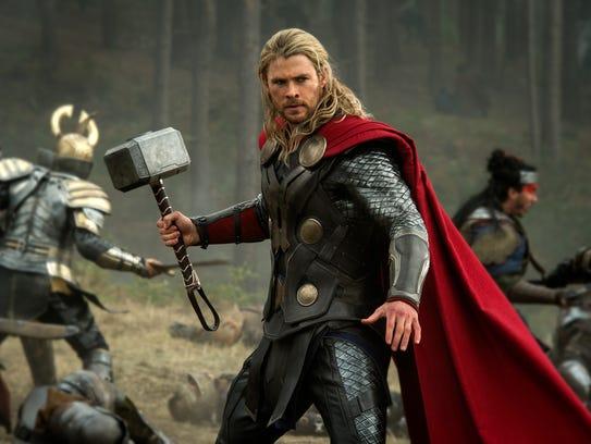Thor (aka Chris Hemsworth) returns to movie theaters