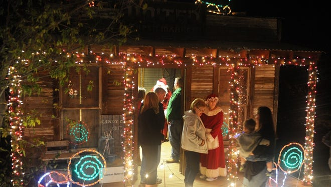 River Bend Nature Center's big holiday light display, ElectriCritters, opened Nov. 18.