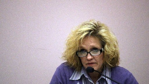 Debra Sheridan, the former owner of Golden S Rescue in Easley, is pictured in a file photo.