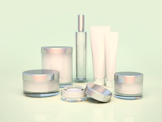 Daily, beauty care cosmetic. Face cream, eye cream.