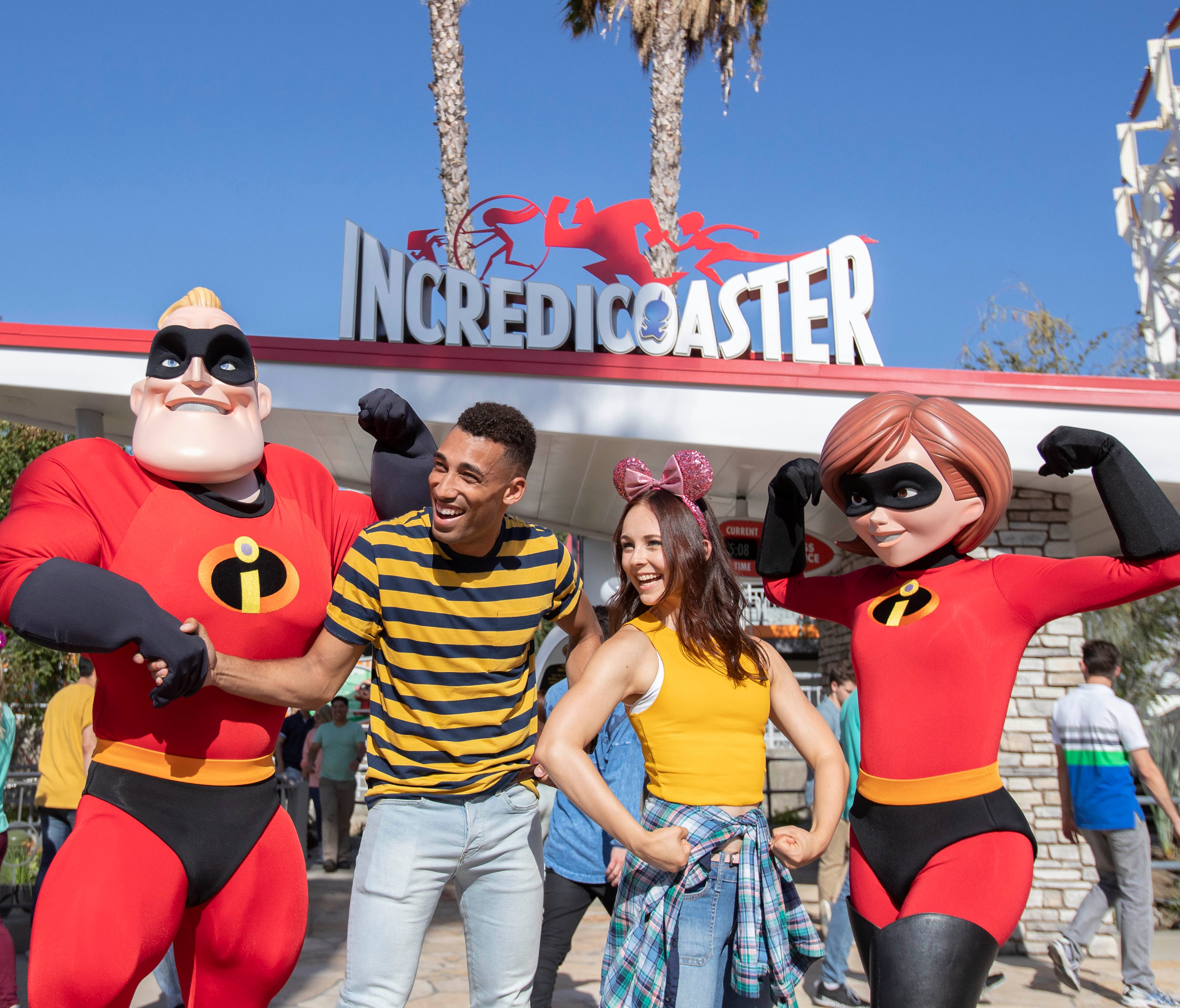 The thrilling Incredicoaster opens June 23, 2018 at Disney California Adventure Park, bringing guests the first ride-through attraction in the world to feature characters from Disney•Pixar's