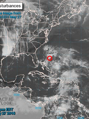 Tropical storm warning issued for South Carolina coast.