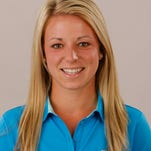 Former Xavier star golfer Breanna Patz is now the Musketeers' new women's golf coach.