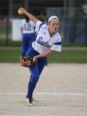 Whether pitching or hitting, Salem's Morgan Overaitis