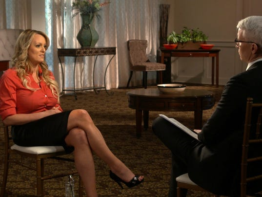60 MINUTES STORMY DANIELS A ENT USA