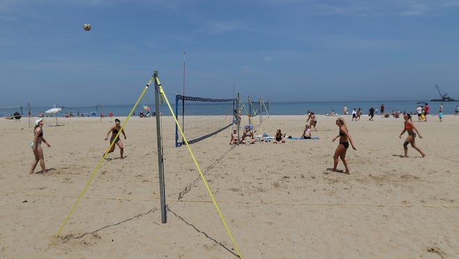 Beach volleyball is one of the many activities to be featured at the ROC City Health & Music Festival at Ontario Beach Park on Aug. 13 and 14, 2016.